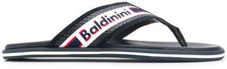 Baldinini Woven Logo Slides