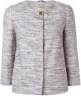 Fay three-quarter sleeve jacket - women - Cotton/Acrylic/Polyamide/Viscose - L