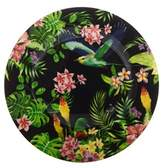 Maxwell & Williams Cashmere Birds of Paradise Plate 19cm Black