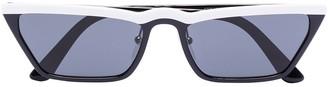 Prada Cat Eye Tinted Sunglasses