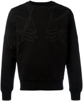 Les Hommes geometric chest print sweatshirt - men - Cotton - S
