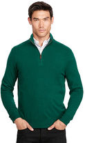 Polo Ralph Lauren Cashmere Half-Zip Sweater