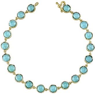 Irene Neuwirth Cabochon Turquoise Bracelet - Yellow Gold