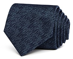 John Varvatos Brushstroke Solid Classic Silk Tie