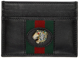 Gucci Black Rajah Card Holder