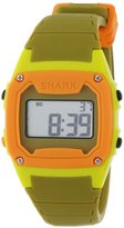 Freestyle Unisex 102280 Classic Green Case Digital Silicone Strap Watch