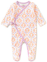 Jessica Simpson Baby Girls Newborn-9 Months Printed Footed Coverall