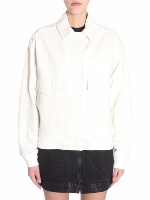 Givenchy Front Pockets Leather Jacket