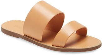 Madewell The Boardwalk Double Strap Slide Sandal