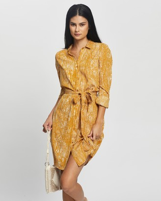 Vero Moda Vibe LS Short Shirt Dress