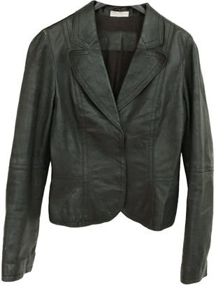 Max & Co. Black Leather Jacket for Women