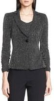 Armani Collezioni Women's Glitter Jersey Jacket