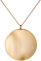 Kenneth Jay Lane WOMEN'S DISC PENDANT NECKLACE-GOLD