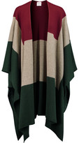Madeleine Thompson Indil Color-Block Cashmere Poncho