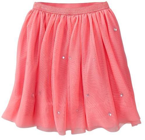 Gap Embellished tulle skirt