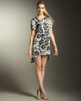 Cheetah-Print Dress