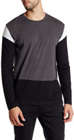 Kenneth Cole New York Long Sleeve Colorblock Modern Fit Shirt