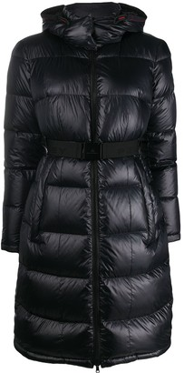 Peuterey Belted Padded Coat