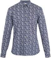 Paul Smith Single-cuff floral-print cotton shirt
