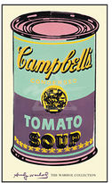 Warhol, Campbell's Soup Can, Green and Purple