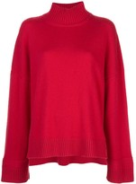 Rosetta Getty oversized cashmere turtleneck sweater