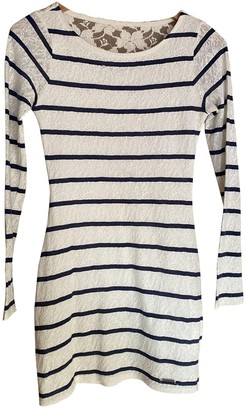 Abercrombie & Fitch White Cotton Dress for Women