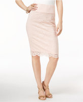 Thalia Sodi Lace Pencil Skirt, Only at Macy's