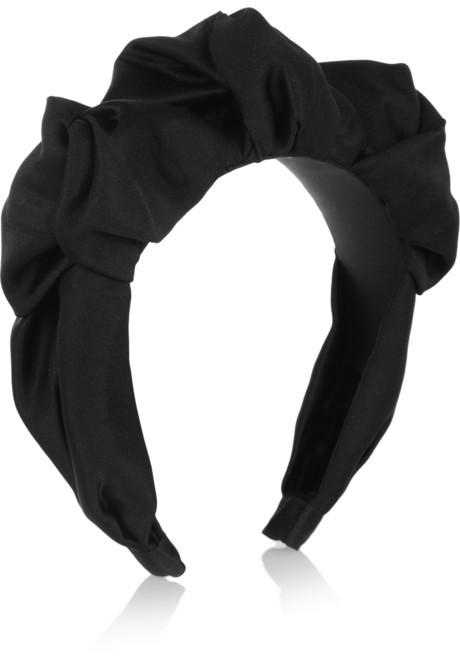 Jennifer Behr Silk-satin headband