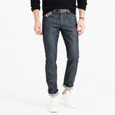 J.Crew Wallace & Barnes slim steel blue selvedge jean