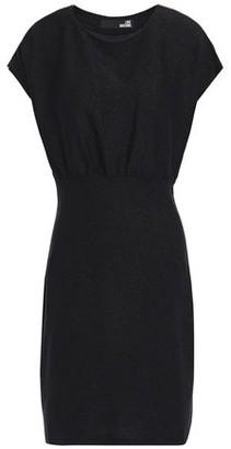 Love Moschino Metallic Stretch-jersey Mini Dress