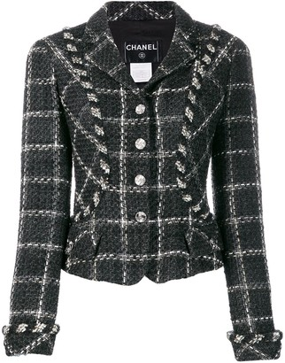 Chanel Pre Owned 2006's Checked Fitted Jacket
