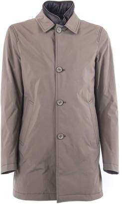 Herno Dove Grey Padded Jacket