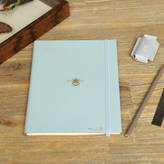 Undercover Recycled Leather 'Bee' Slim Journal