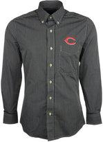 Antigua Men's Long-Sleeve Cincinnati Reds Button-Down Shirt