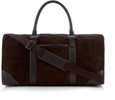 J By Jasper Conran Brown Suede Holdall