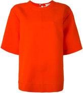 Ports 1961 oversize T-shirt - women - Silk/Wool - 44