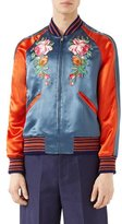 Gucci Acetate Bomber Jacket with Appliqu&233s
