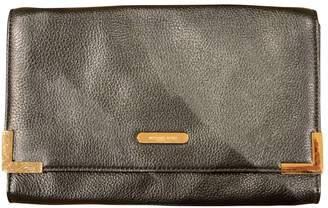 Michael Kors Black Leather Clutch bags