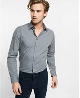 Express fitted easy care heathered 1MX shirt