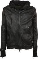 Giorgio Brato Two Way Zip Fastening Leather Jacket