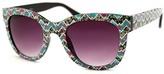 A. J. Morgan Teal Serendipity Sunglasses