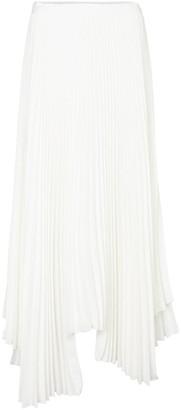 Plan C Pleated asymmetric skirt