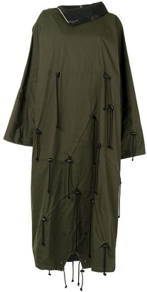 Yohji Yamamoto Reversible Poncho Coat