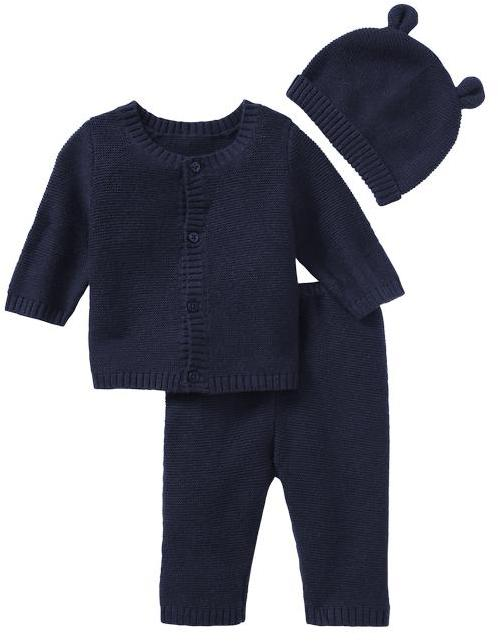 Gap Garter-stitch knit 3-piece set
