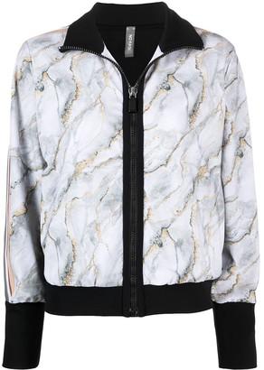 NO KA 'OI Marble-Effect Track Jacket