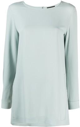 Antonelli Kabila side-slits blouse