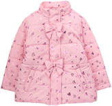 Gymboree Pink Heart Bow-Detail Jacket - Infant & Toddler