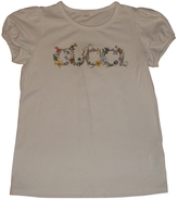 Gucci White Cotton Top