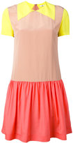 Paul Smith colour block dress - women - Silk/Viscose - 38