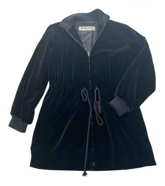 Saint Laurent Black Velvet Leather jackets